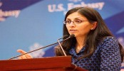 Nisha Biswal in Dhaka to discuss over security cooperation