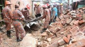 Wall collapse kills housewife in Chittagong