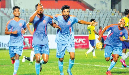 Dhaka Abahani reach Independence Cup final