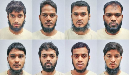 8 Bangladeshis held in Singapore, 5 in Dhaka