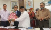 UITS VC Dr Samad joins DU