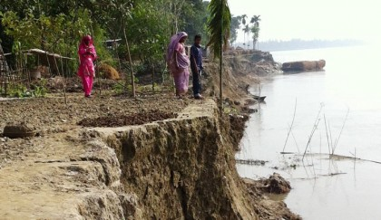 River erosion takes serious turn in Gaibandha