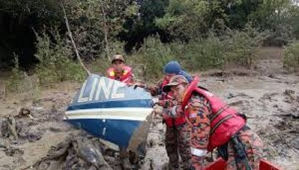 Body from missing helicopter found in Malaysia