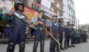 10,000 police personnel deployed in city ahead of Jamaat's hartal
