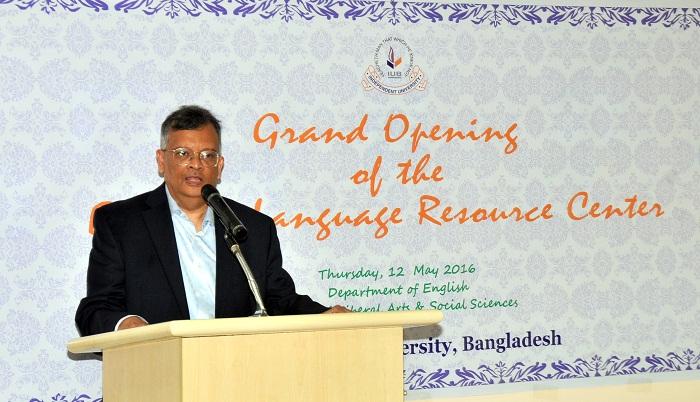 English language resource center inaugurated at IUB