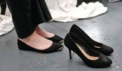 UK high heels at work petition hits parliament