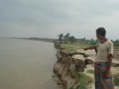 Erosion by Meghna keeps intensifying in Laxmipur
