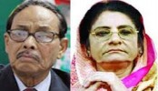 Ershad, Raushan re-elected JP chief, senior co-chair
