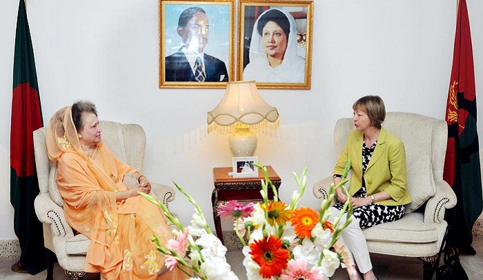 British envoy meets Khaleda