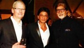 Bachchan family, Aamir, Madhuri join SRK dinner
