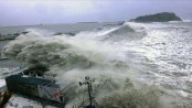 Cyclonic storm 'Roanu' in Bay, local warning signal No 4 hoisted