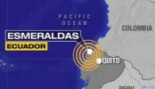 6.8-magnitude earthquake hits Ecuador