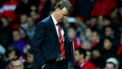 'It's over' says Van Gaal