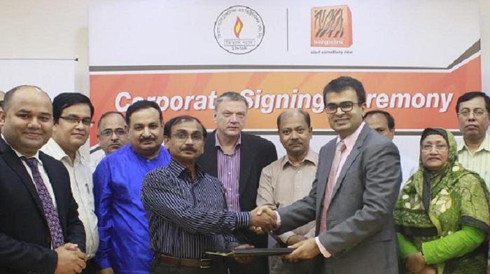 Banglalink inks 5-yr partnership with Titas