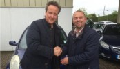 David Cameron buys used car for wife