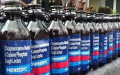 2 held with 1,220 bottles of Phensidyl in C'nawabganj