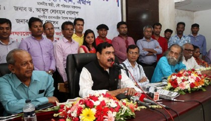 BNP can't derive benefit conspiring with Israel: Shajahan