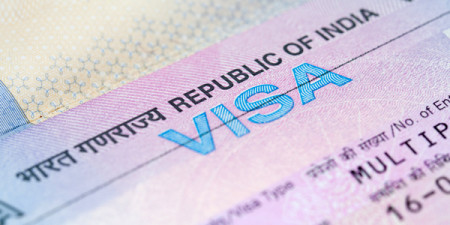 SMS-based appointment for Indian tourist visas