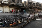Suicide car bombing kills at least 8 people in Baghdad