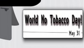 Int'l No Tobacco Day today