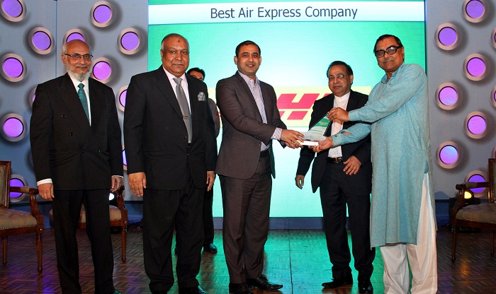 DHL Express recognized as the Best Air Express Company