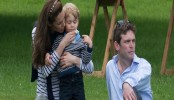 Prince George, Duchess Kate Spotted in Candid