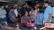 President visits lunge of journalists at JS