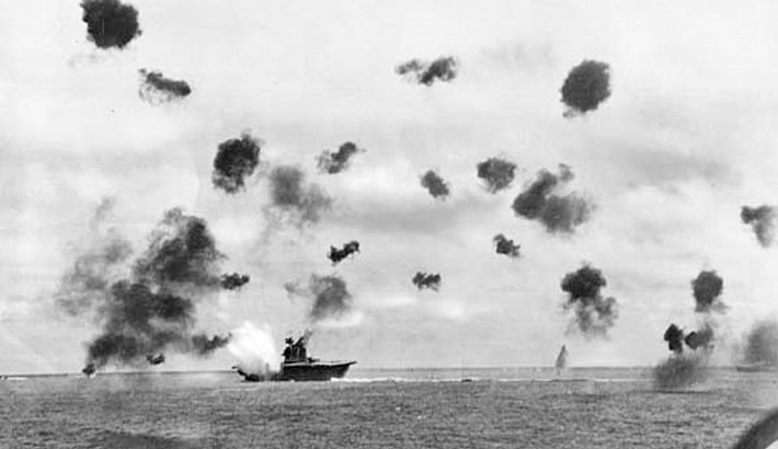 Image result for the battle of midway begins in 1942