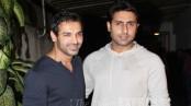 Abhishek Bachchan wants his Dostana co-star John Abraham for football match