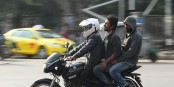 Govt bans more than 2 persons on bike