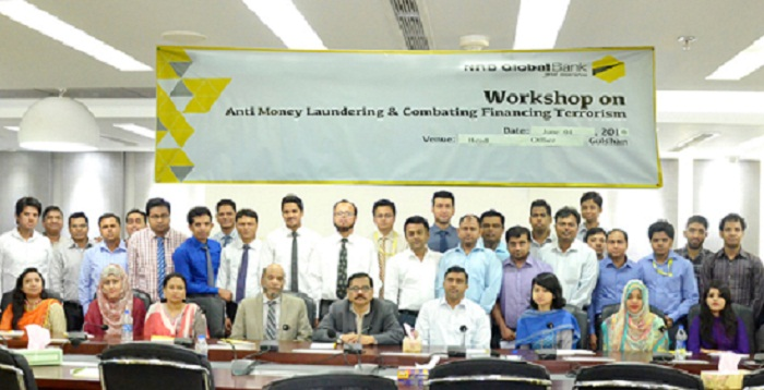 NRB Global Bank conducts CFT training