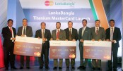 LankaBangla Launches Titanium MasterCard Credit Card