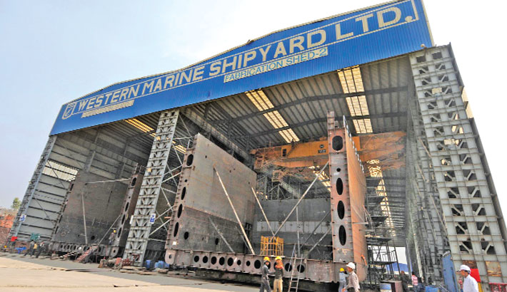 Western marine shipyard limited ipo result