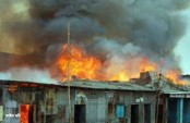 Fire at Shyampur slum doused