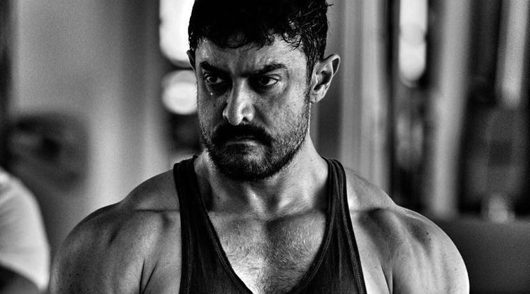 Aamir Khan unveils his Dangal's muscular look