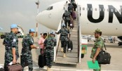 135 navy men fly to join UN peacekeeping mission