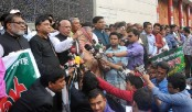 14-party alliance's human chain against militancy Sunday