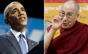 Tibetans living in exile thank Barack Obama for hosting Dalai Lama