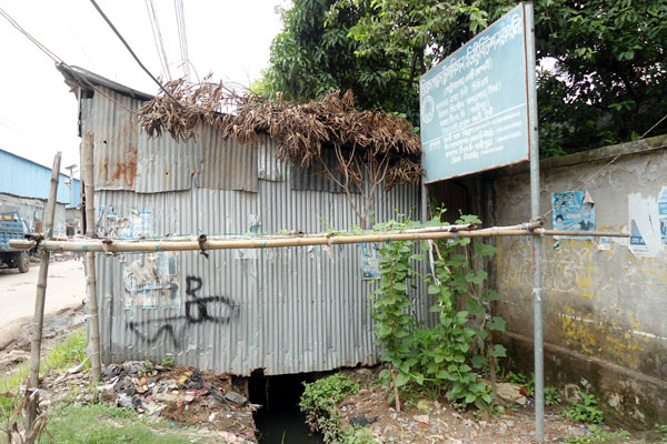 Tongi, safe haven for grabber