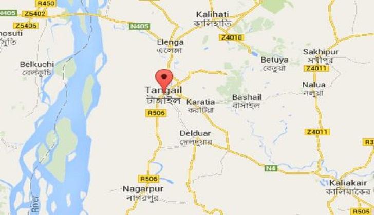 Killed In Tangail Road Accident Dailysuncom - Tangail map