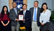 Chinese delegation meets DU VC