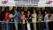 Venezuela queue to oust president