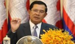 Cambodian PM fined for not wearing helmet