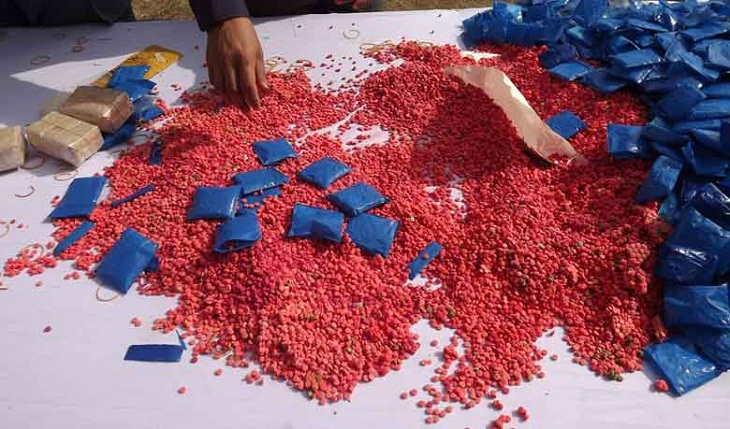 2 held with 50,000 yaba tablets in city