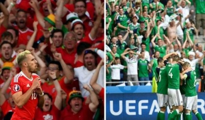 Euro 2016: Wales & Northern Ireland set for historic last-16 tie in Paris