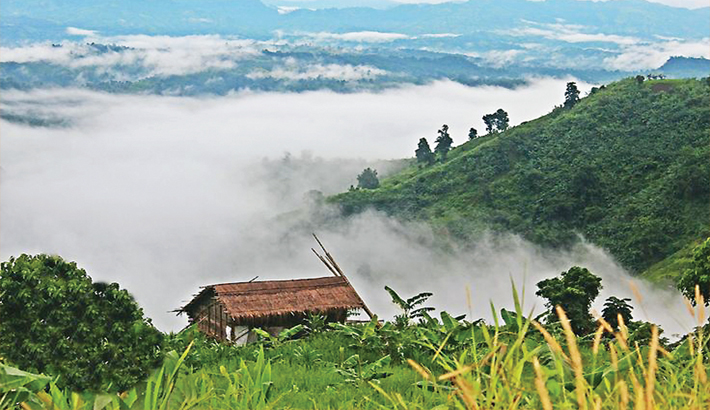 tour to bandarban To reach nafakhum, after coming to bandarban you will need to go to thanchi (79 km from bandarban) first by bus it can take around 4 hours once at thanchi, you will need to register your name at the local army camp and hire a mandatory travel guide.