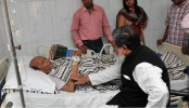 Deputy Speaker visits ailing National Prof MR Khan