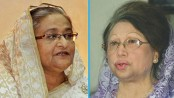 Khaleda sends Eid card to Hasina