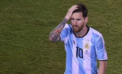 Frustrated Messi retires from international football