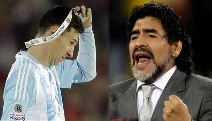 Maradona wants Messi to stay, play in 2018 WC